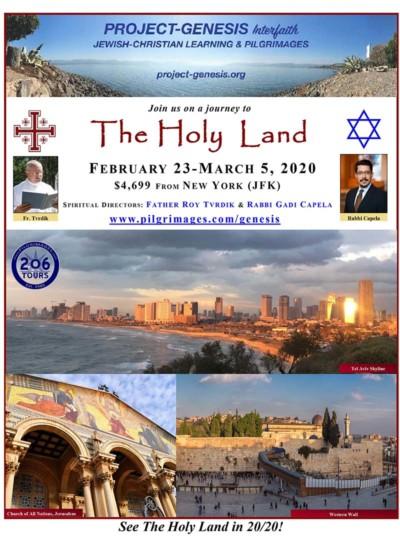 Holy Land Jewish Christian Pilgrimage